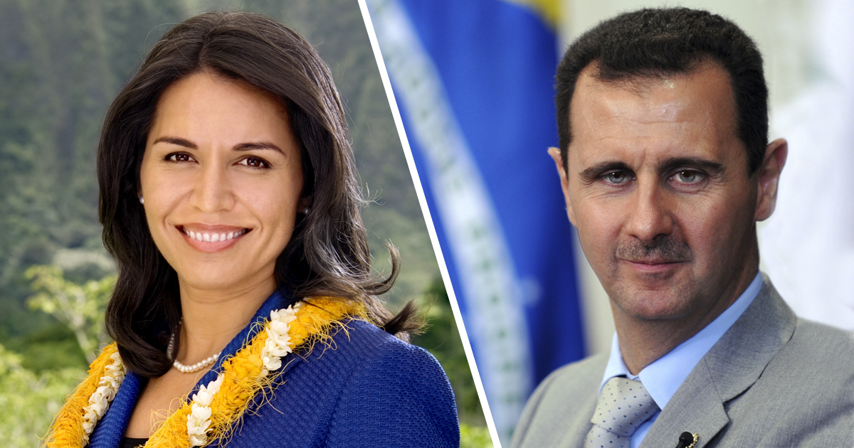 Tulsi and Bashar